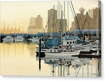 Coal Harbour Canvas Print