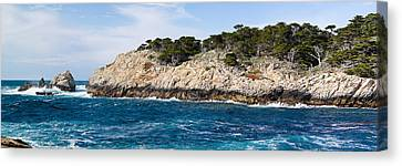 Coastline, Point Lobos State Reserve Canvas Print by Panoramic Images