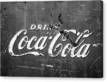 Coca-cola Sign Canvas Print