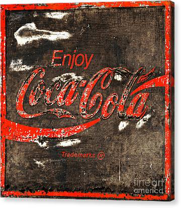 Coca Cola Sign Canvas Print by John Stephens