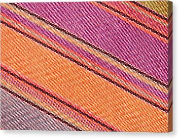 Bedouin Canvas Print - Colorful Cloth by Tom Gowanlock