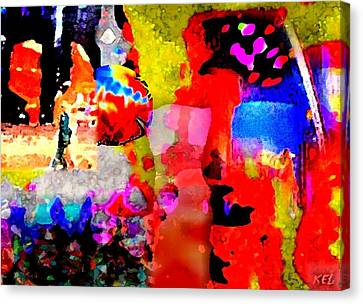 Colorful Canvas Print by Kelly McManus