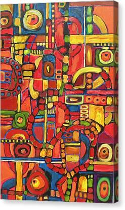 Coloroso # 7--sold Canvas Print