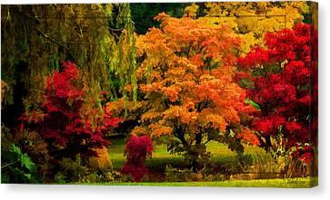 Colors Of Autumn Canvas Print by Jordan Blackstone