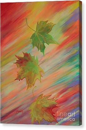 Colours Of Autumn. Inspirations Collection. Canvas Print