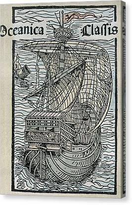 Columbus, Christopher 1451-1506 Canvas Print by Everett