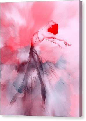 Ballet Dancers Canvas Print - Coming Home by Steve K