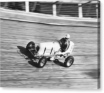 Coney Island Midget Race Car Canvas Print by Underwood Archives