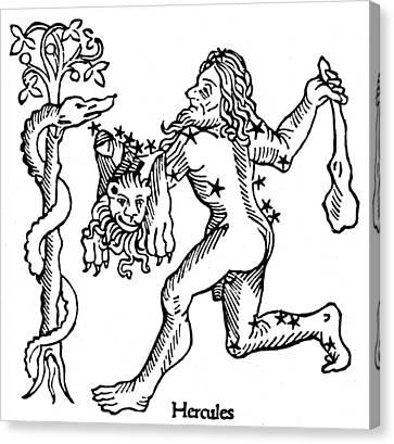 Constellation Hercules Canvas Print by Granger