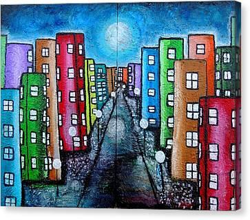 Contemporary City Canvas Print