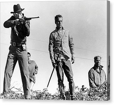 Cool Hand Luke  Canvas Print by Silver Screen