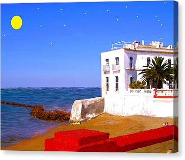 Cortijo Canvas Print - Cortijo On The Beach by Bruce Nutting