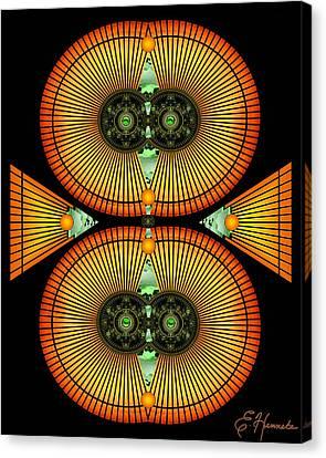 Cosmic Mitosis Canvas Print