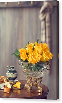 Country House Interior Canvas Print by Amanda Elwell