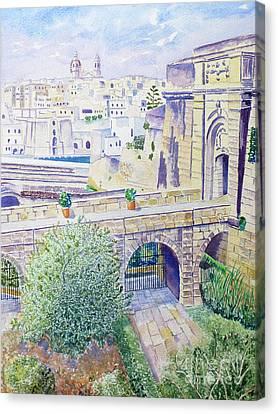 Couvre Port Birgu Malta Canvas Print