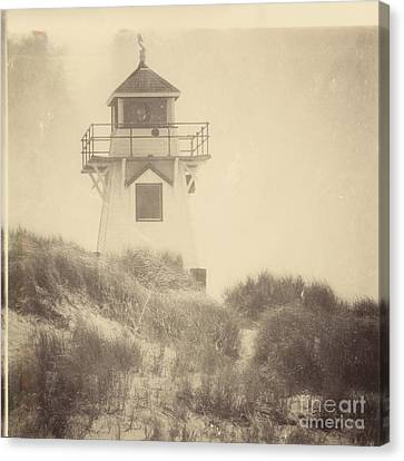 Covehead Light Canvas Print by Meg Lee Photography