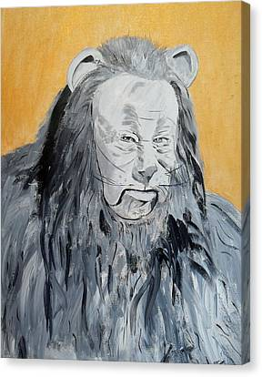 Cowardly Lion Canvas Print by Dan Twyman