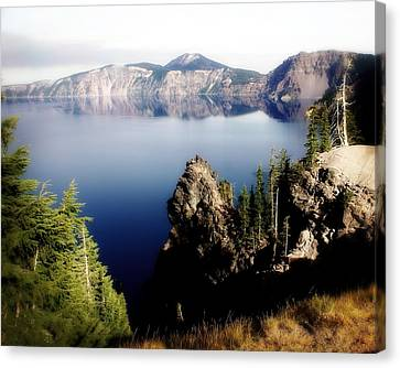 Crater Lake 1 Canvas Print by Marty Koch