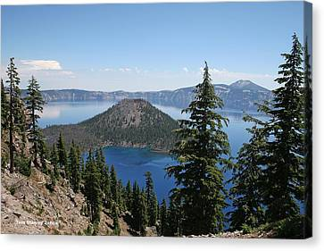 Crater Lake Oregon Canvas Print by Tom Janca