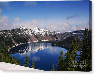 Crater Lake - Oregon Canvas Print