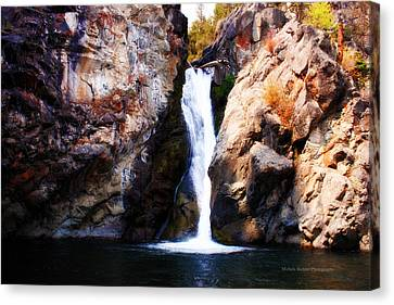 Crow Creek Falls Canvas Print