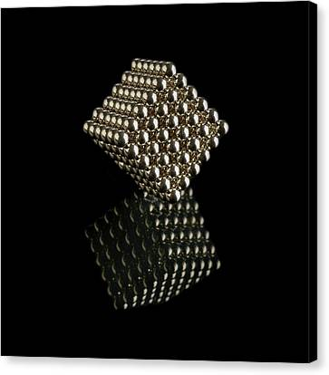 Cube Of Neodymium Magnets Canvas Print