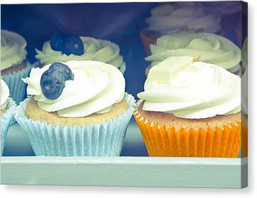 Cupcakes Canvas Print by Tom Gowanlock