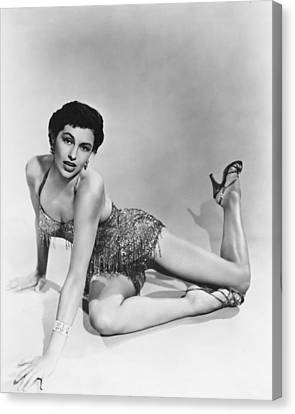 Cyd Canvas Print - Cyd Charisse by Silver Screen