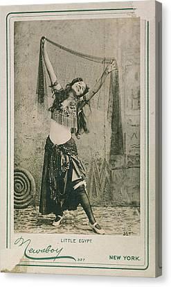 Dancer Little Egypt, 1893 Canvas Print by Granger