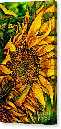 Dancing In The Sun Canvas Print by Linda Simon
