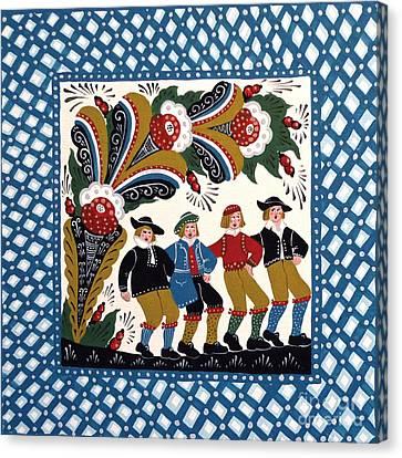 Dancing Men  Canvas Print by Leif Sodergren