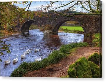 Dartmoor - Two Bridges Canvas Print by Joana Kruse