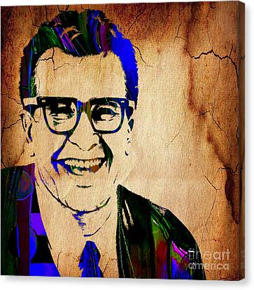 Dave Brubeck Collection Canvas Print