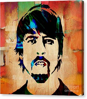 Dave Grohl Foo Fighters Canvas Print