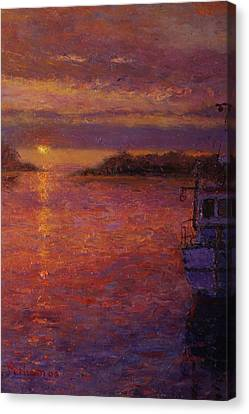 Daybreak Riverton Canvas Print