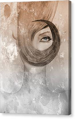 Deep Canvas Print by Yosi Cupano