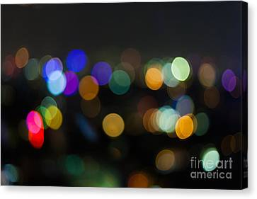 Canvas Print - Defocused Lights by Fototrav Print