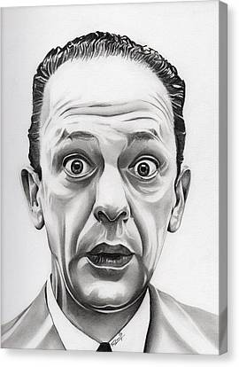 The Andy Griffith Show Canvas Print - Deputy Barney Fife by Fred Larucci