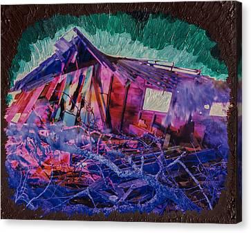Detonation Canvas Print by Scott Campbell