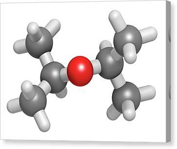 Diisopropyl Ether Solvent Molecule Canvas Print by Molekuul
