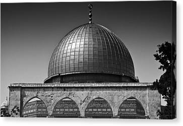 Dome Of The Rock Canvas Print by Amr Miqdadi