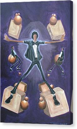 Don't Stop Till You Get Enough Canvas Print by Tu-Kwon Thomas