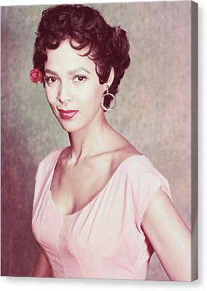 Dorothy Dandridge Canvas Print by Silver Screen