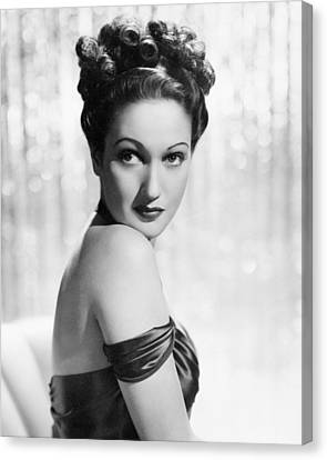 Dorothy Lamour Canvas Print by Silver Screen