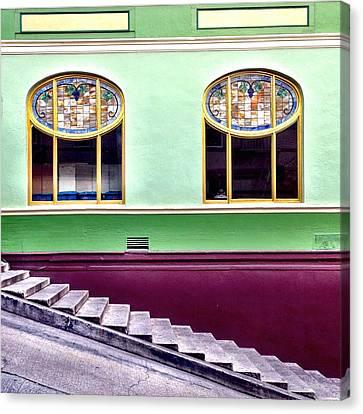 Double Window Canvas Print
