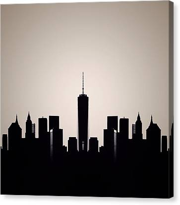 Downtown Deco Canvas Print by Natasha Marco