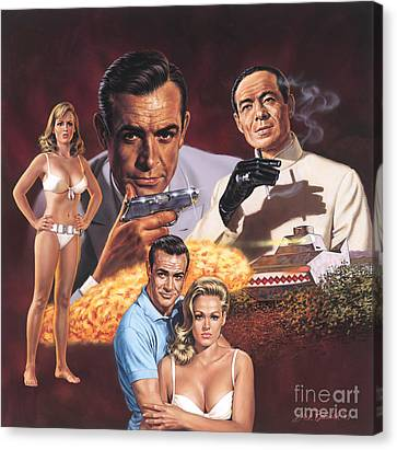 Dr. No   Canvas Print by Dick Bobnick