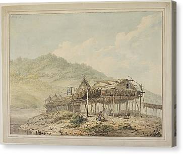 Drawings Made In The South Seas Canvas Print by British Library