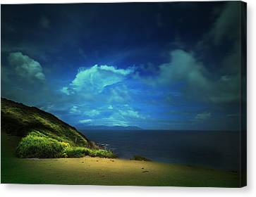 Canvas Print featuring the photograph Dream's Island by Afrison Ma