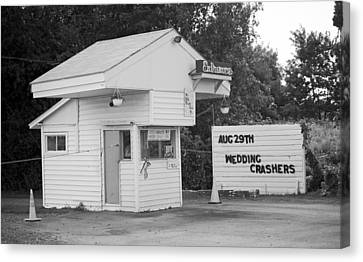Drive-in Theater Canvas Print by Frank Romeo